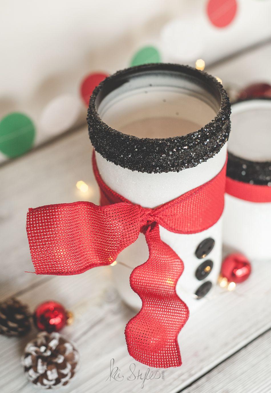 holiday mason jar round up | activité manuelle enfant, peinture sur