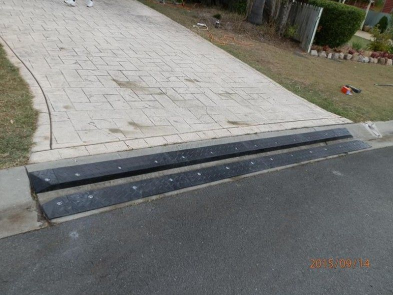 Steep Driveway Solutions Google Search Curb Ramp Driveway Ramp Front Gardens