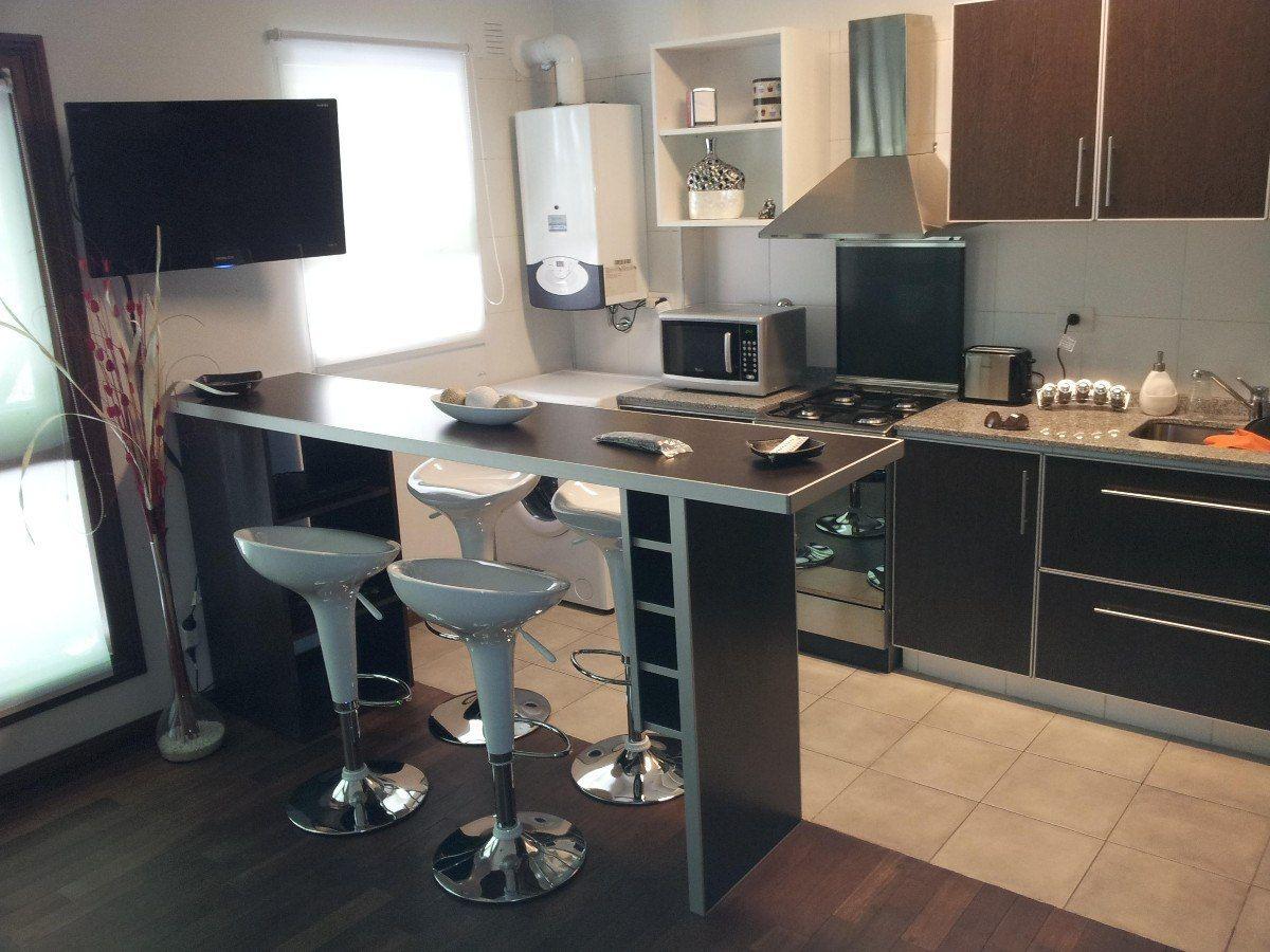 Barra desayunador aluminio 36 mm bodega mueble estantes en mercadolibre deco - Mueble barra cocina ...