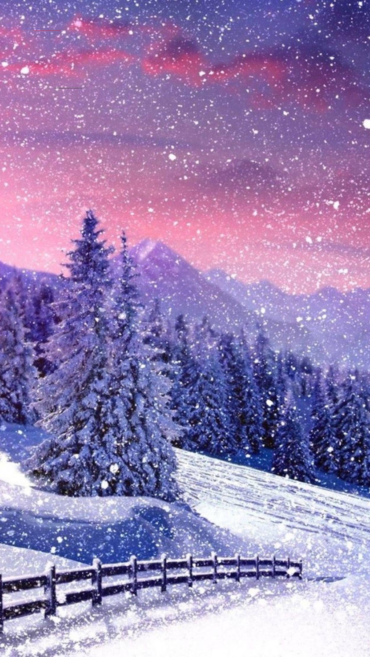 Winterbackground Winter Wallpaper Winter Background Wallpaper Iphone Christmas