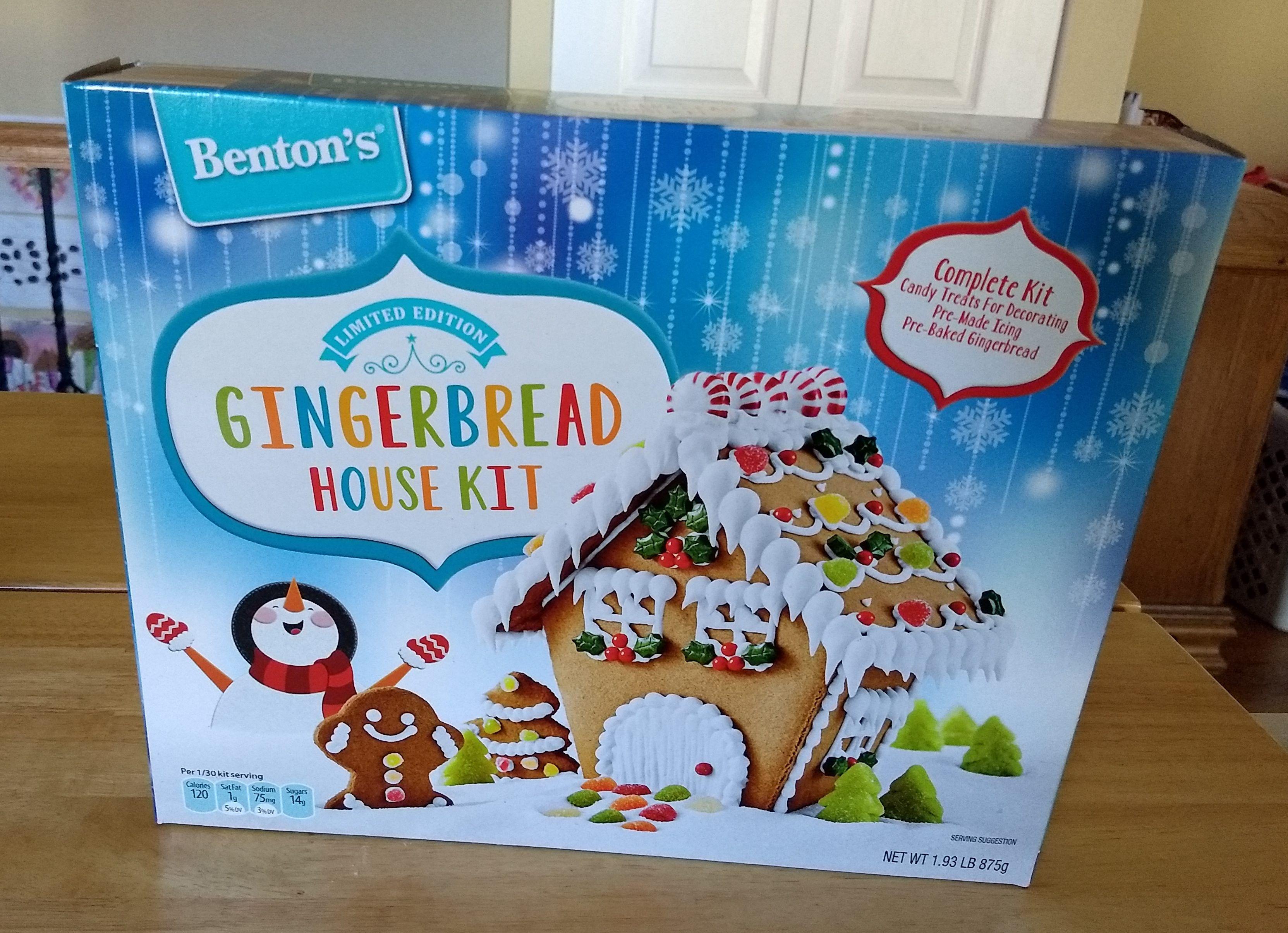 Benton's Gingerbread House Kit Gingerbread house kits