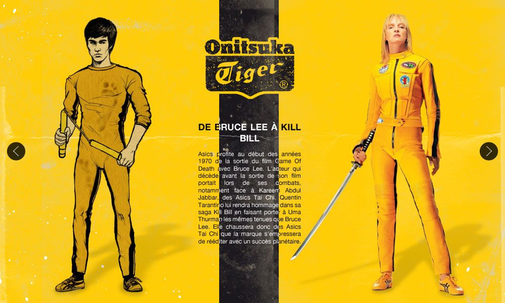 onitsuka tiger kill bill uma thurman