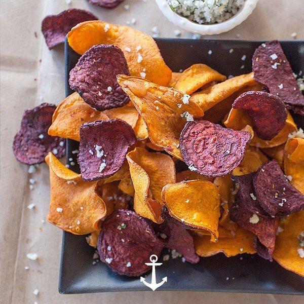 Chips De Verduras Una Buena Idea Para Cuando Te Ataca El Hambre Son Saludables Bajos En Calorías Y Muy Fáciles De Hacer Para Pr Foodie Snacks Snack Recipes