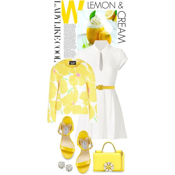 LOVELY LEMON AND CREAM Outfit Idea 2017