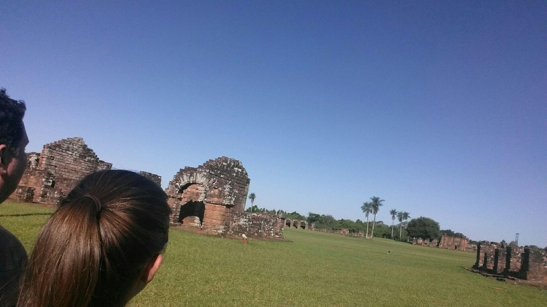 Ruinas De Trinidad Itapua Paraguay