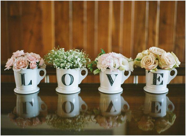 Decoração | Bodas de flores | www.kristinsweeting.com