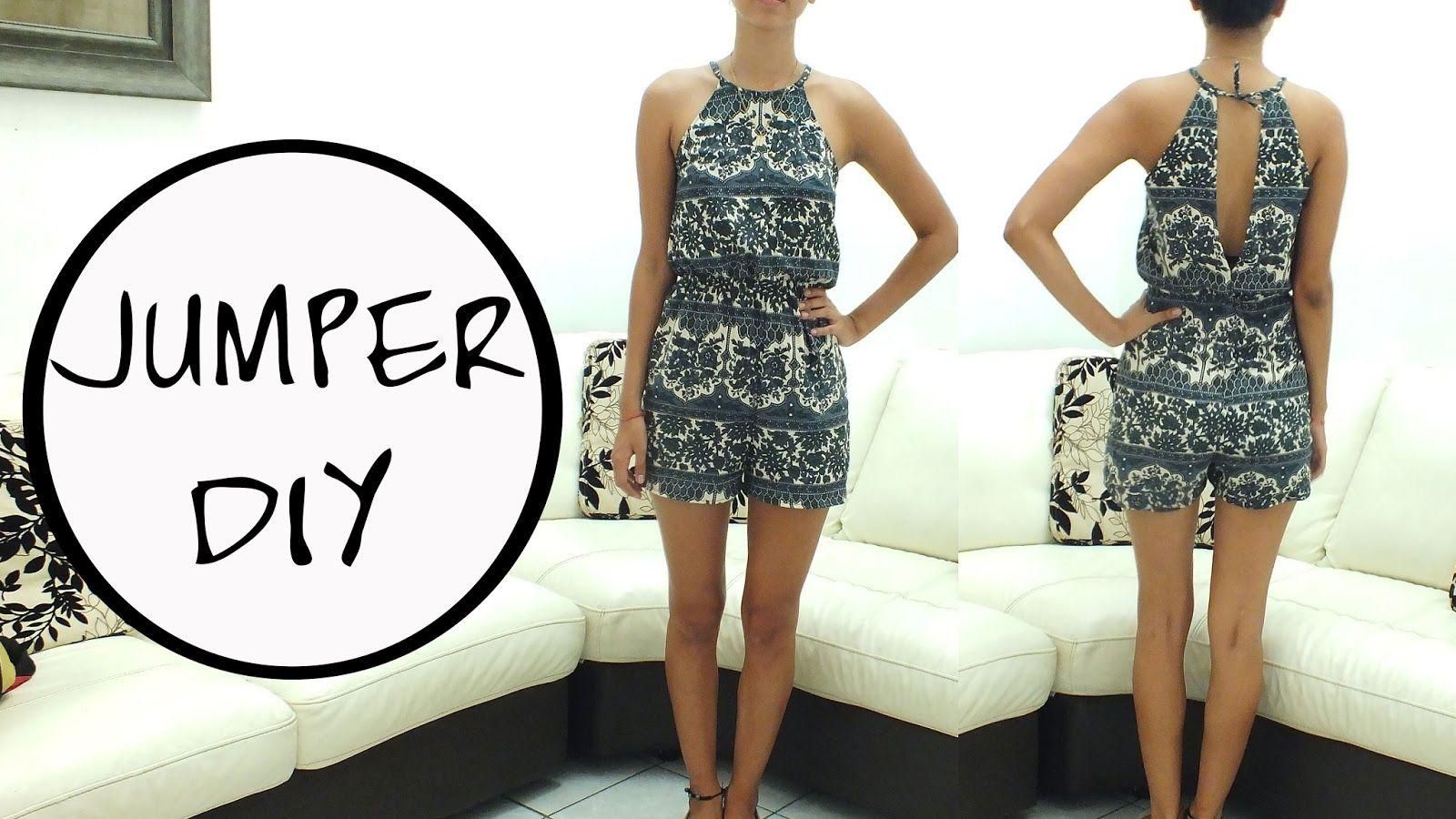 Jazz Ro DIY: Romper DIY. || Learn how to make a romper || FREE ...