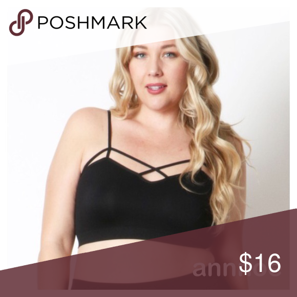 😍WOMEN WITH BIG GIRLS... DK GRAY THIS IS EXACTLY like the BEST SELLING TAUPE, BUT IN DARK GRAY .  It is a cross cross BRALETTE that can be worn in so many way.  This is for women with a size 38 band or larger .  This is also for women who have a LARGE CUP SIZE.. But are a 36 band .  🎈FIT GUIDE: 1X: 38 band. 2X: 40 band and larger Intimates & Sleepwear Bras