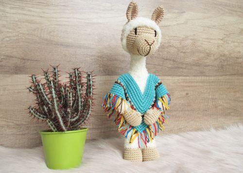 Lama Lloyd - Häkelanleitung | Häkelanleitungen | Pinterest | Crochet ...