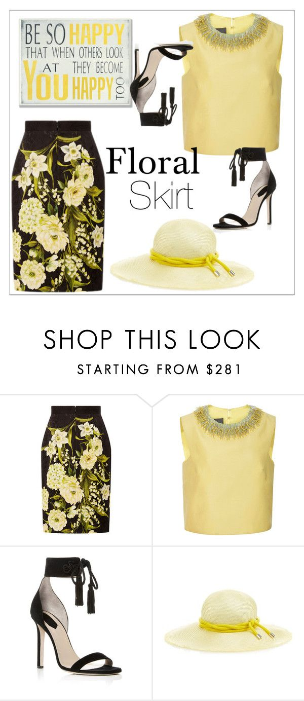 """""""Be so happy"""" by chanlee-luv ❤ liked on Polyvore featuring Naeem Khan, Monique Lhuillier, Elie Saab, Benoît Missolin and Stupell"""