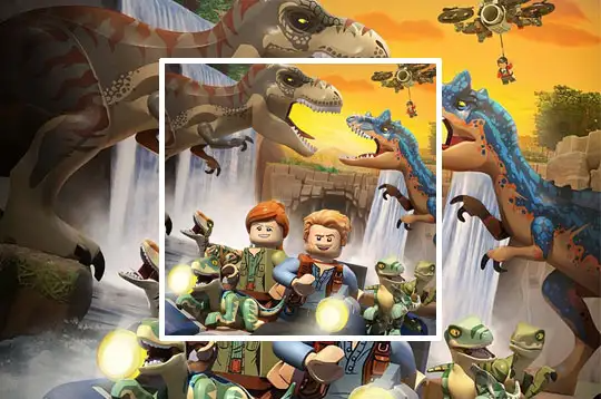 Lego Jurassic World Legend Of Isla Nublar Jogos Na Internet Mundo Jurassico Jurassic World Nickelodeon