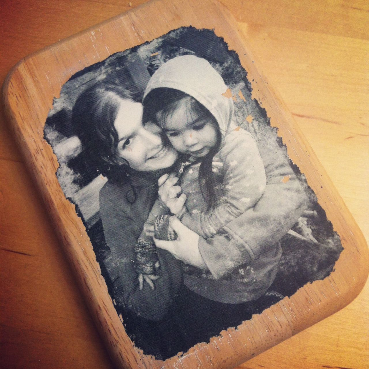 Photo To Wood Transfer Tutorial With Step By Step Photos And Instructions Photo On Wood Wood Transfer Picture On Wood