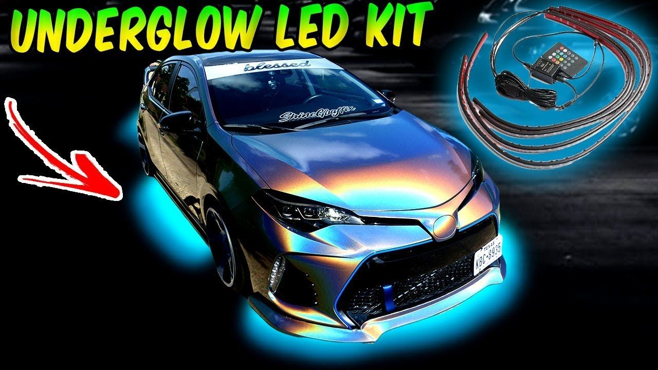 Bright Underglow Led Kit Install Led Kit Flexible Led Strip Lights Led