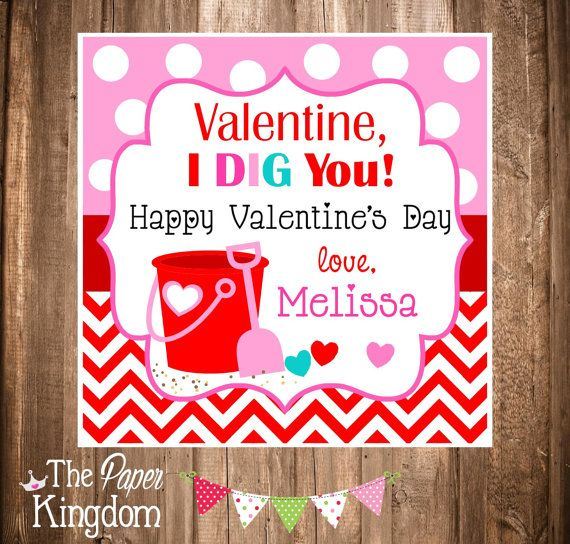 Printable Valentine's Day Gift Tags Valentine by thepaperkingdom