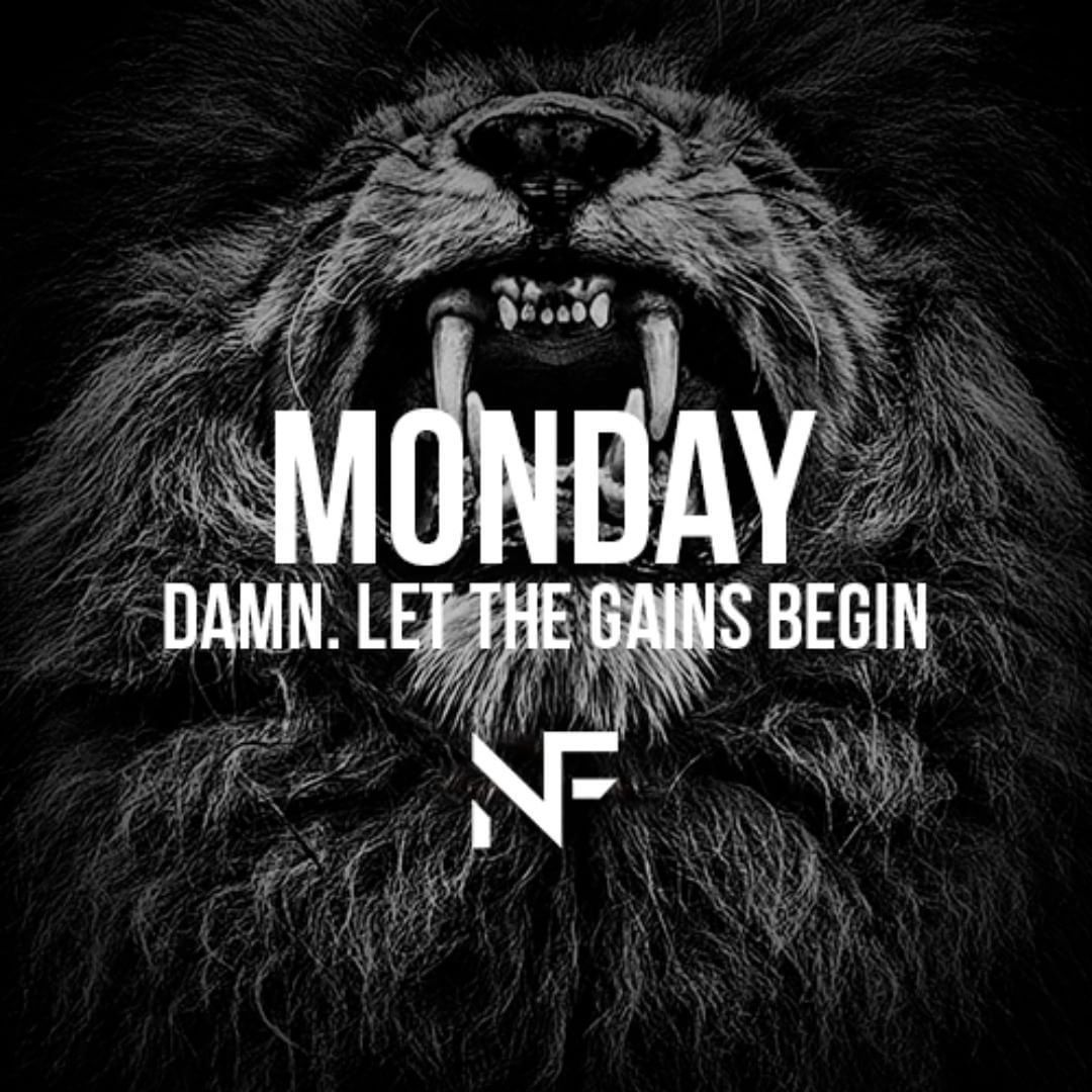 Monday! #fitness #fitnessmotivation #mondaymorning #mondaymotivation #crossfit #training #gymmotivat...