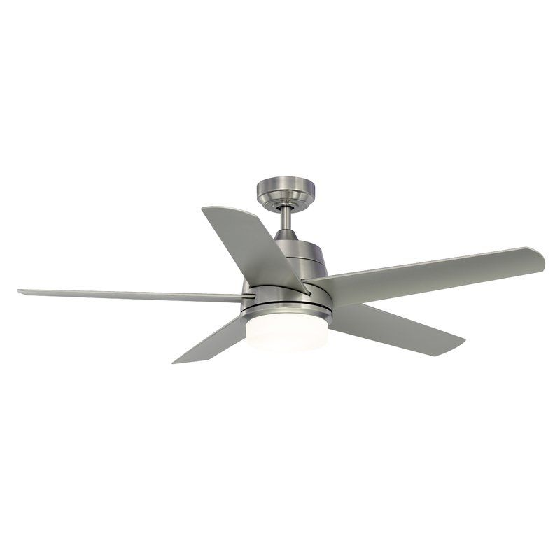 Ivy Bronx 52 Orr 5 Blade Ceiling Fan With Light Kit Reviews