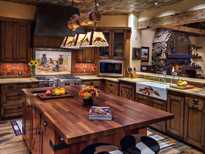 Western Kitchen Decor Strange Thoughts For Western Kitchen Decor My Decor Ideas With Regard To Western Kitc Western Kitchen Decor Kitchen Styling Kitchen Decor