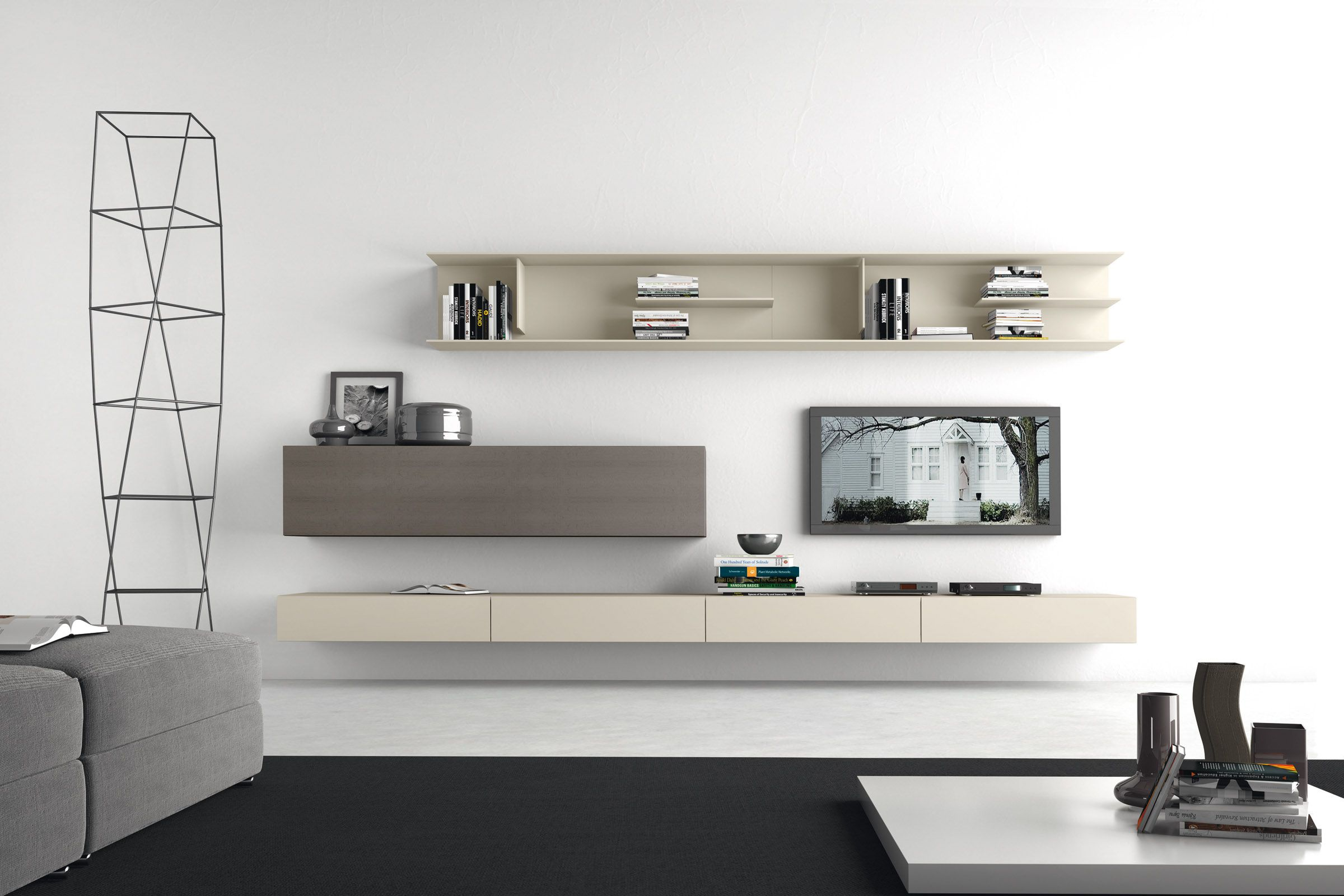 Soggiorno componibile moderno PR13 | livingroom | Pinterest | Interiors