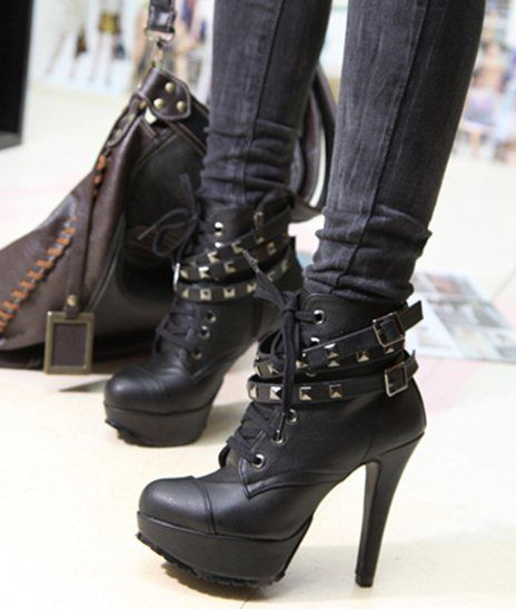 1000  images about *Heels &amp Boots* on Pinterest | Gothic steampunk