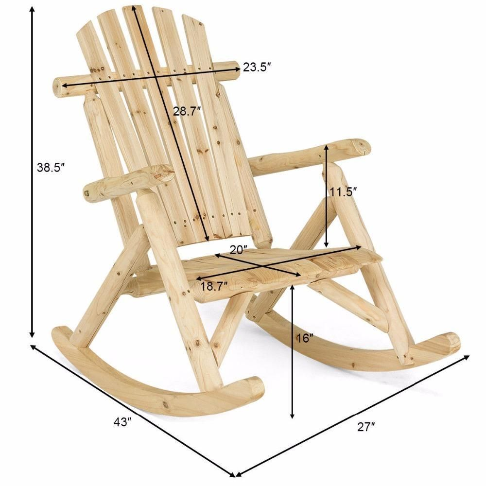 Pin On Muebles, Deck Rocking Chair Plans