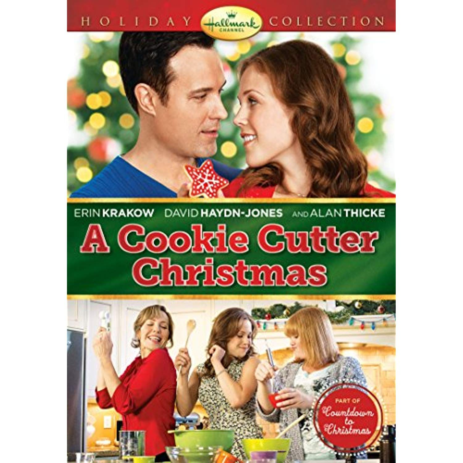 Hallmark A Cookie Cutter Christmas Channel DVD Channel