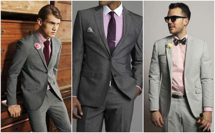 1001 + Ideen Thema: grauer Anzug welches Hemd passt dazu