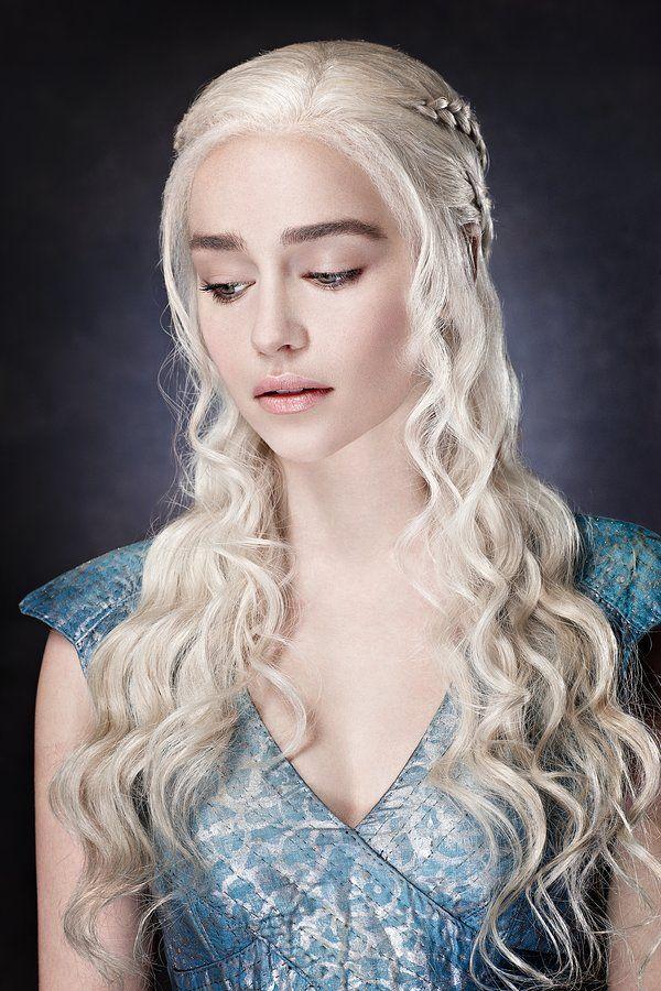 Pin by Gosia on game of thrones   Targaryen hair, Emilia ...