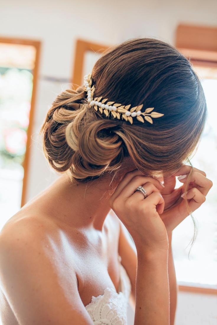 65 coiffures de mariée tendances pour la saison 2019