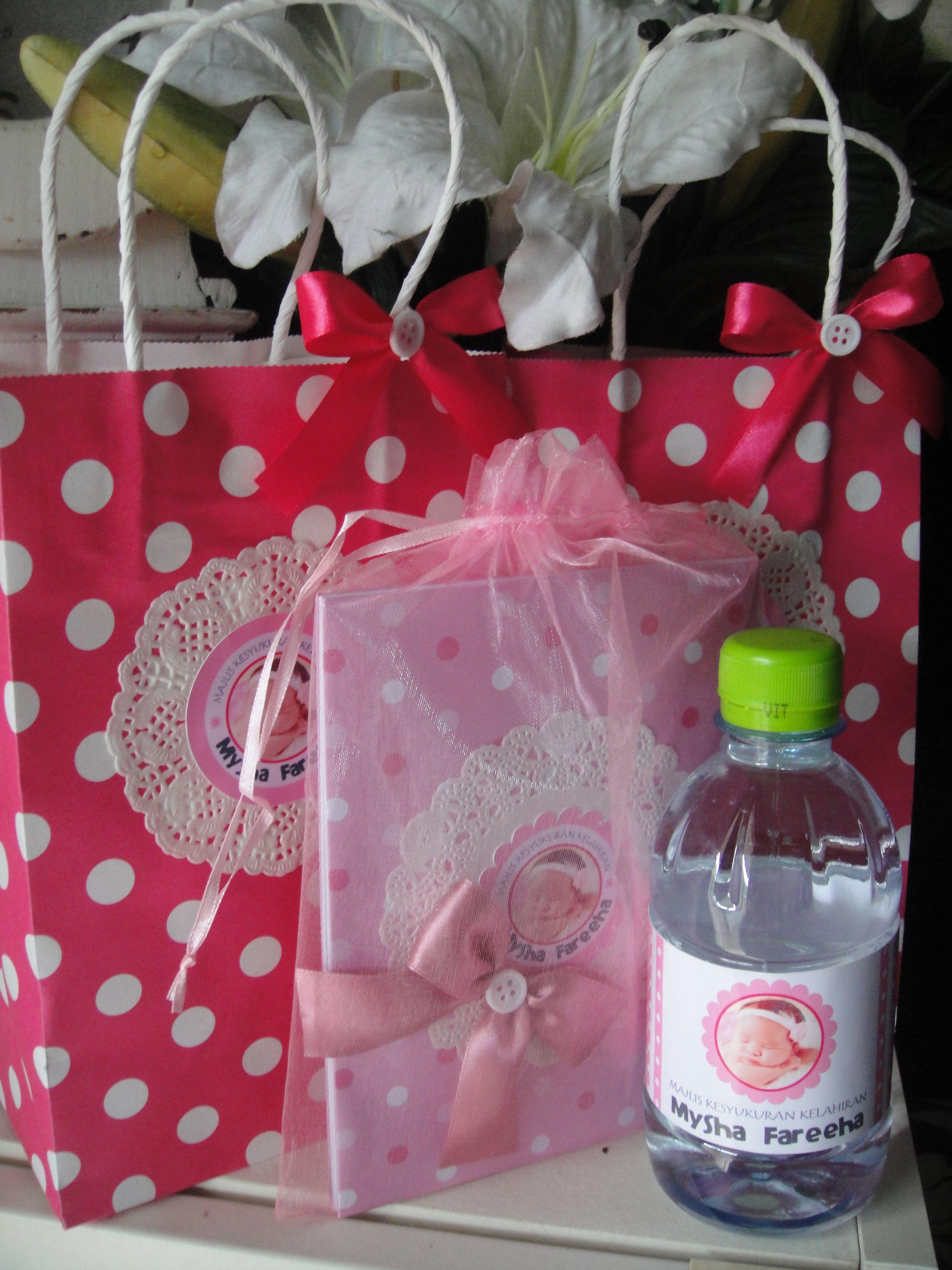 Aqiqah Doorgift My Craft Dodies Design Pinterest Baby Party