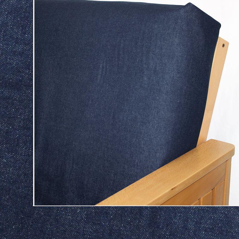 Jeans Indigo Fitted Mattres Cover Futon Covers Full Futon Full Size Futon Mattress