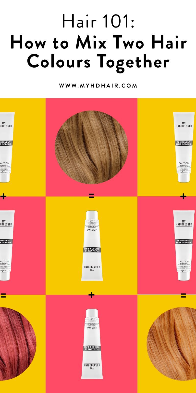 Hair 101 How To Mix Two Hair Colours Together In 2020 Hair Color Guide Dark Blonde Hair Color Hair 101