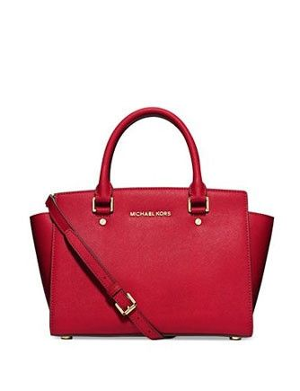 2612c732209eaa Michael Michael Kors Selma Saffiano Medium Satchel Bag in 2019 ...
