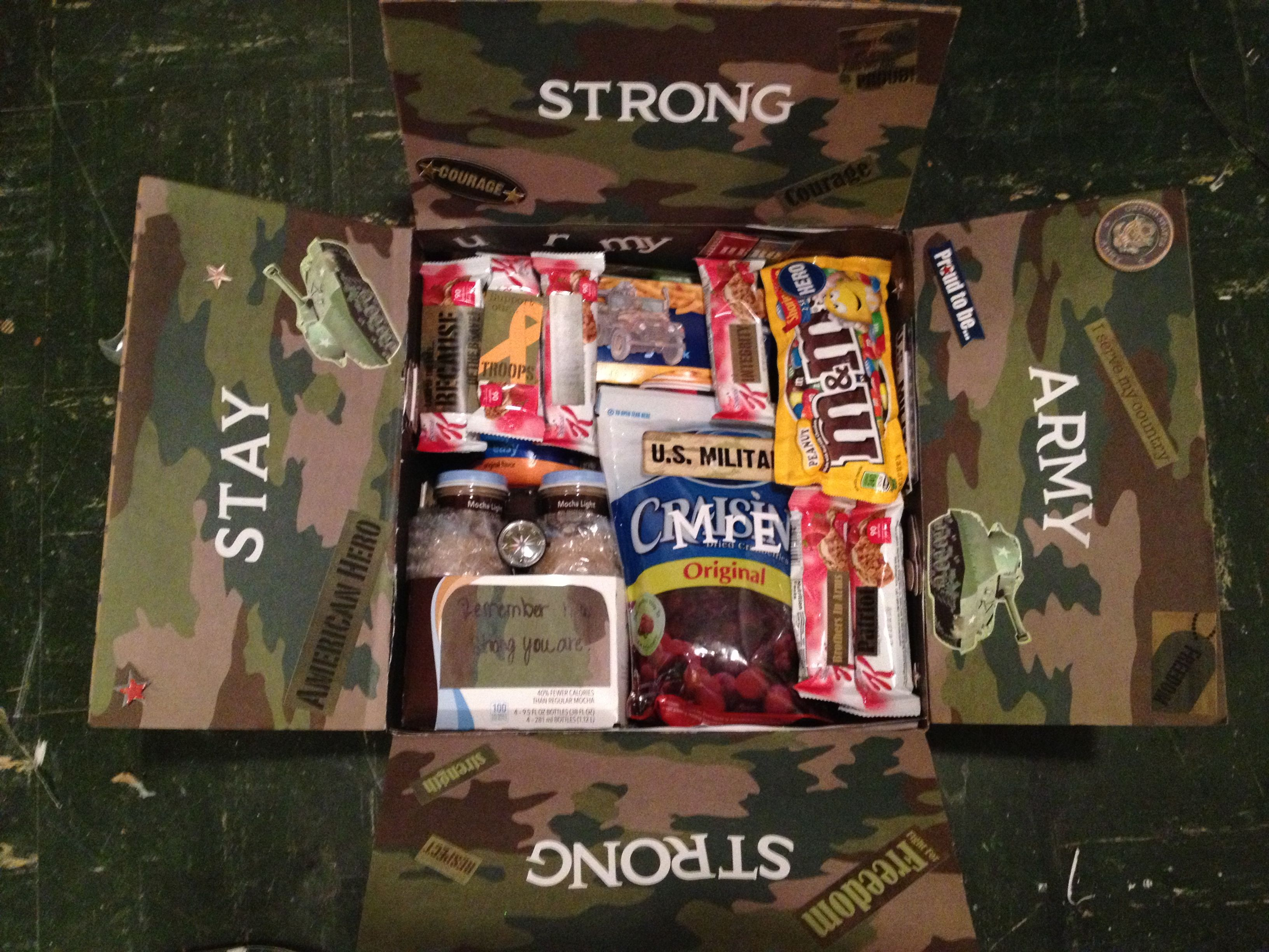 care package ideas! | troops!! | deployment care packages, soldier