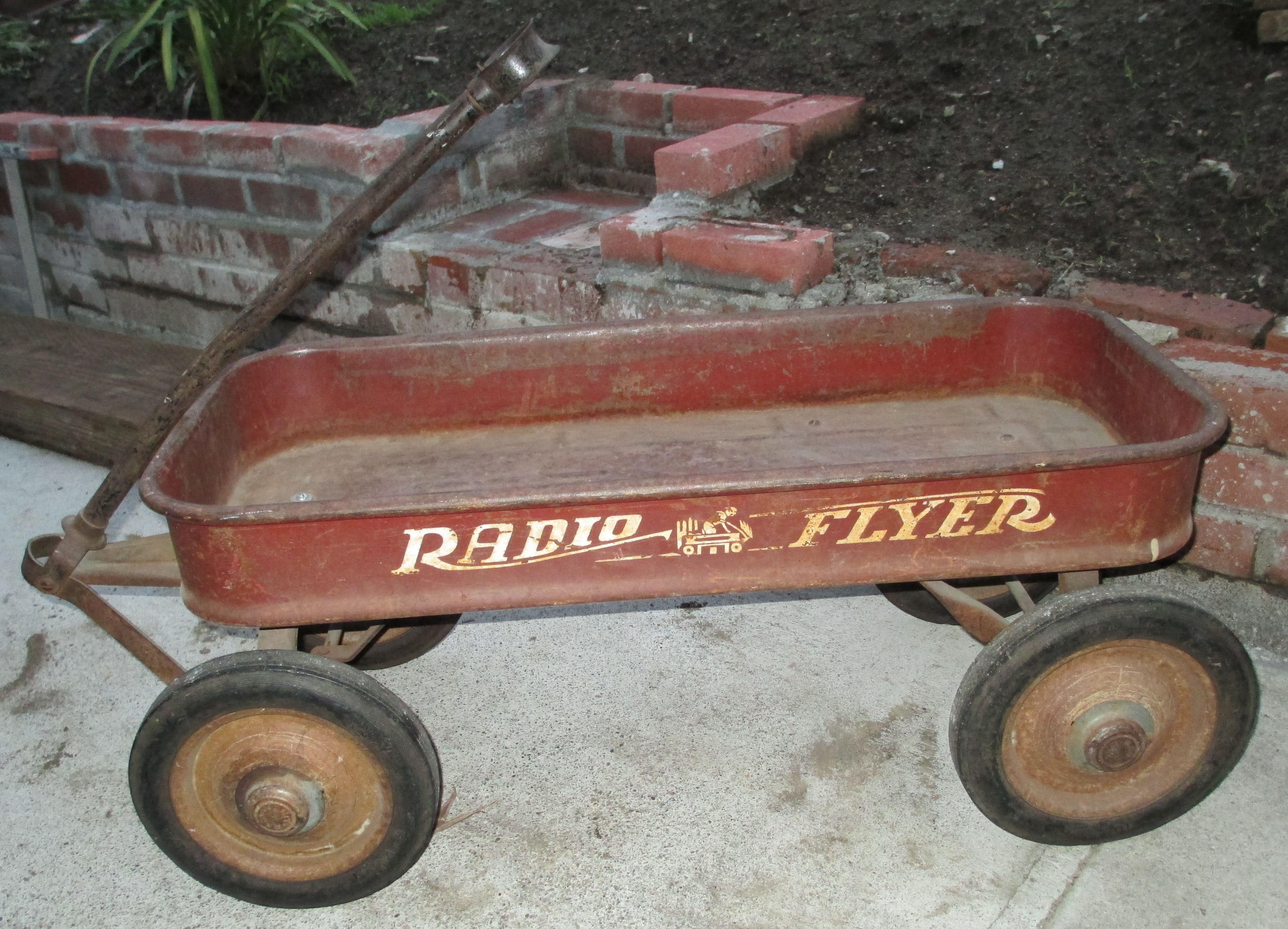 Vintage Radio Flyer Painting Google Search Radio Flyer Wagons Radio Flyer Kids Wagon