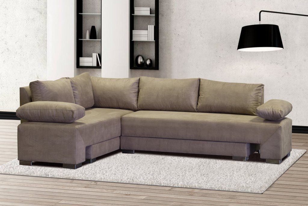 Sleeper Corner Couch L Shape Made In Johannesburg South Africa Made From Suede Colour Buffalo Kilimanjar Corner Couch Lounge Suites Sleeper Sofa Comfortable