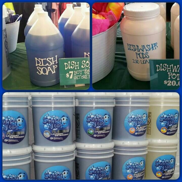 Soapy Joe S Laundry Detergent Fundraiser The Best Detergent You
