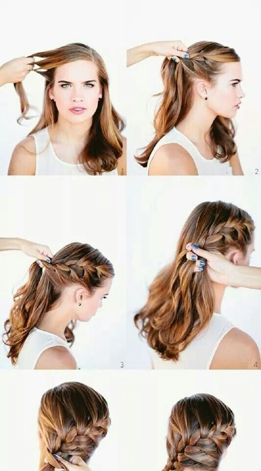 Pin By Simone Schramm On Steyling Hair Styles Long Hair Styles French Braid Hairstyles