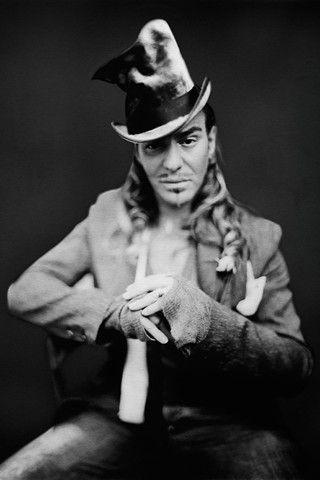 John Galliano by Paolo Roversi.  5380cee162