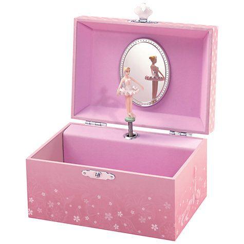 John Lewis Ballerina Musical Jewellery Box Small Musical jewelry