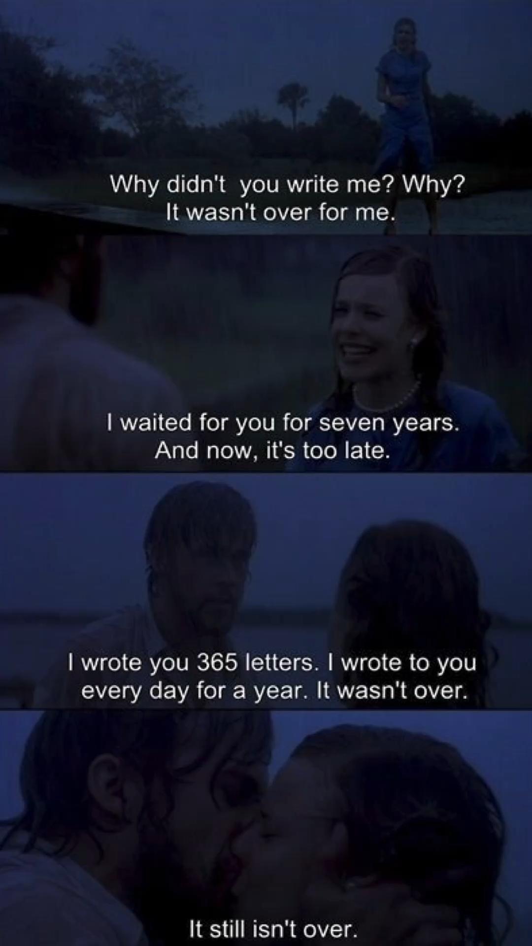 Best romantic Movie notebook