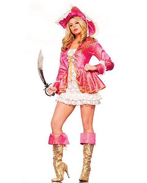 89d59eff5c24a Adult Pink Pirate Costume #Pirates #halloween   Boots/Clothes ...