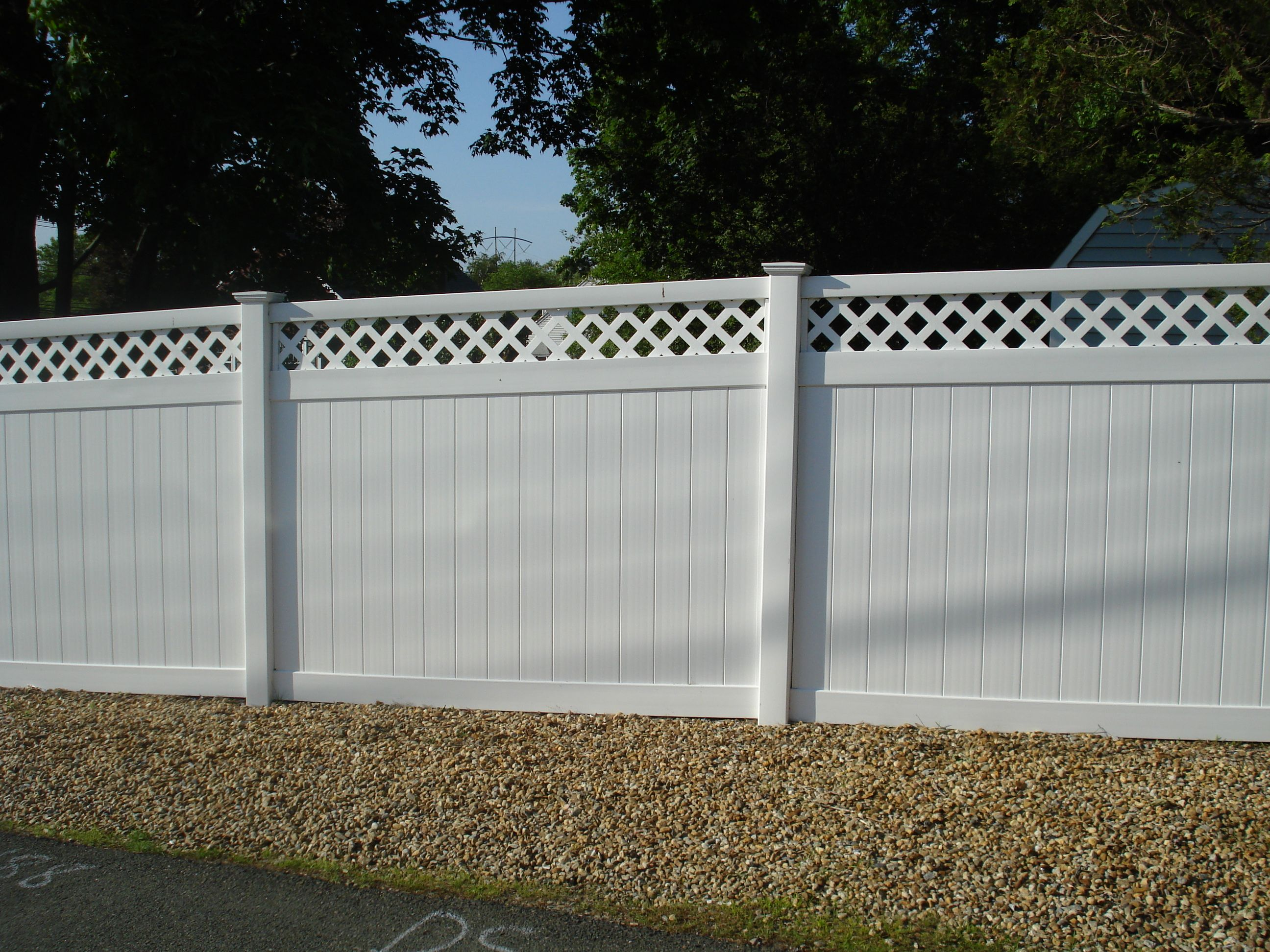 Non flammable vinyl fence ,stockist of boards in