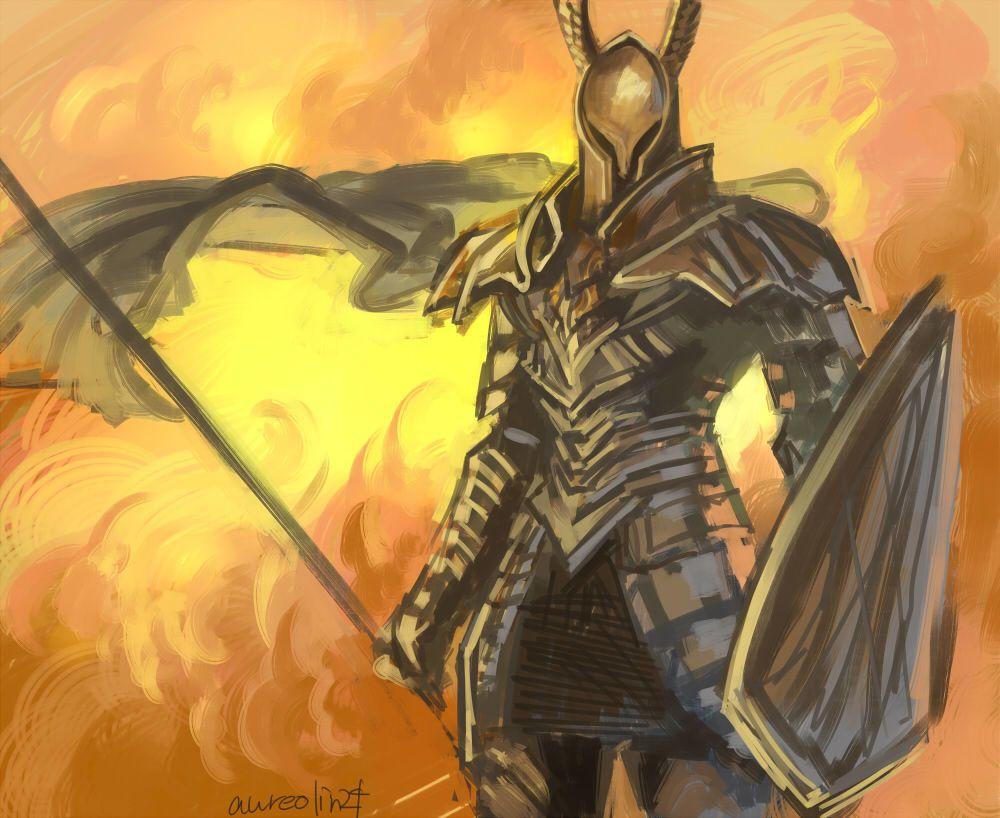 Dark Souls | Black Knight