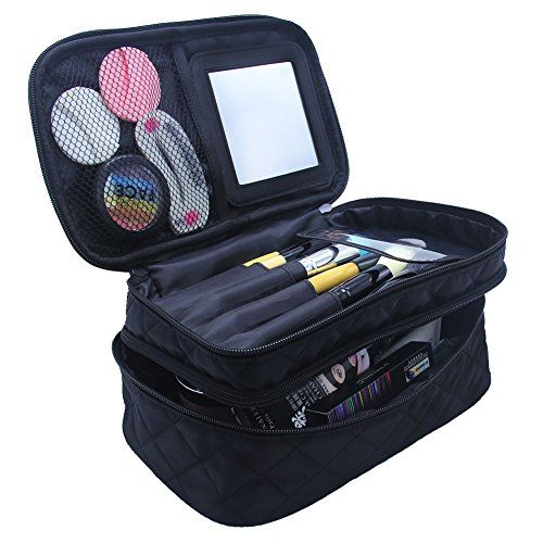 b06c6e214dc1 Pin by Stephanie on Makeup in 2019 | Makeup brush bag, Makeup pouch ...