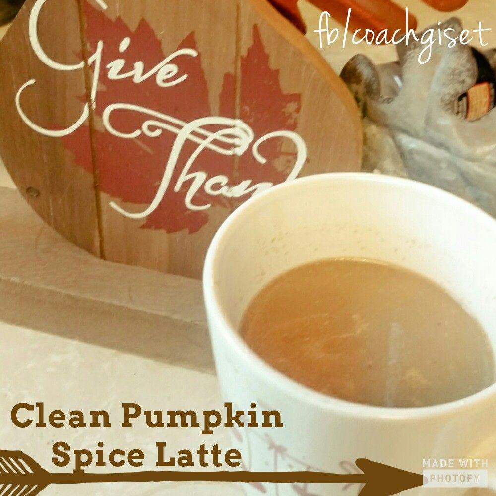CLEAN Pumpkin Spice Latte CLEAN Pumpkin Spice Latte 1tbs