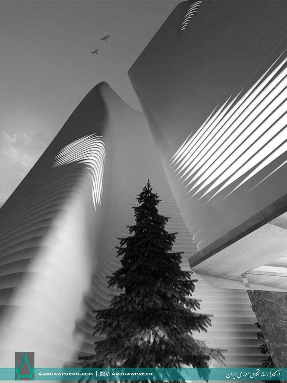 آرکاو   رسانه آگاهی معماری ایران منتشر کرد   مجتمع عمار قم