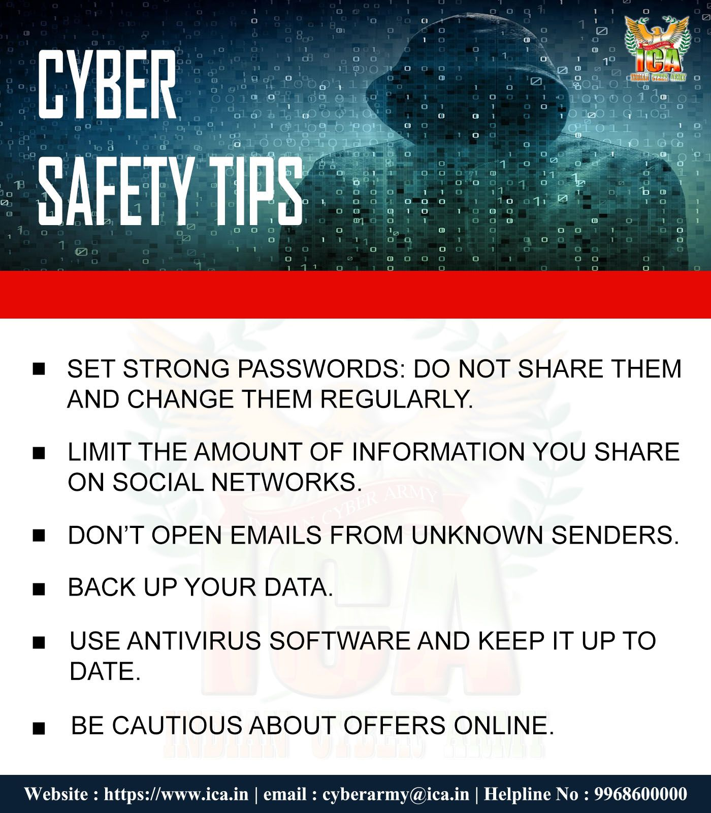 Always Be Cyber Safe To Save Yourself From Cyber Creeps Connect