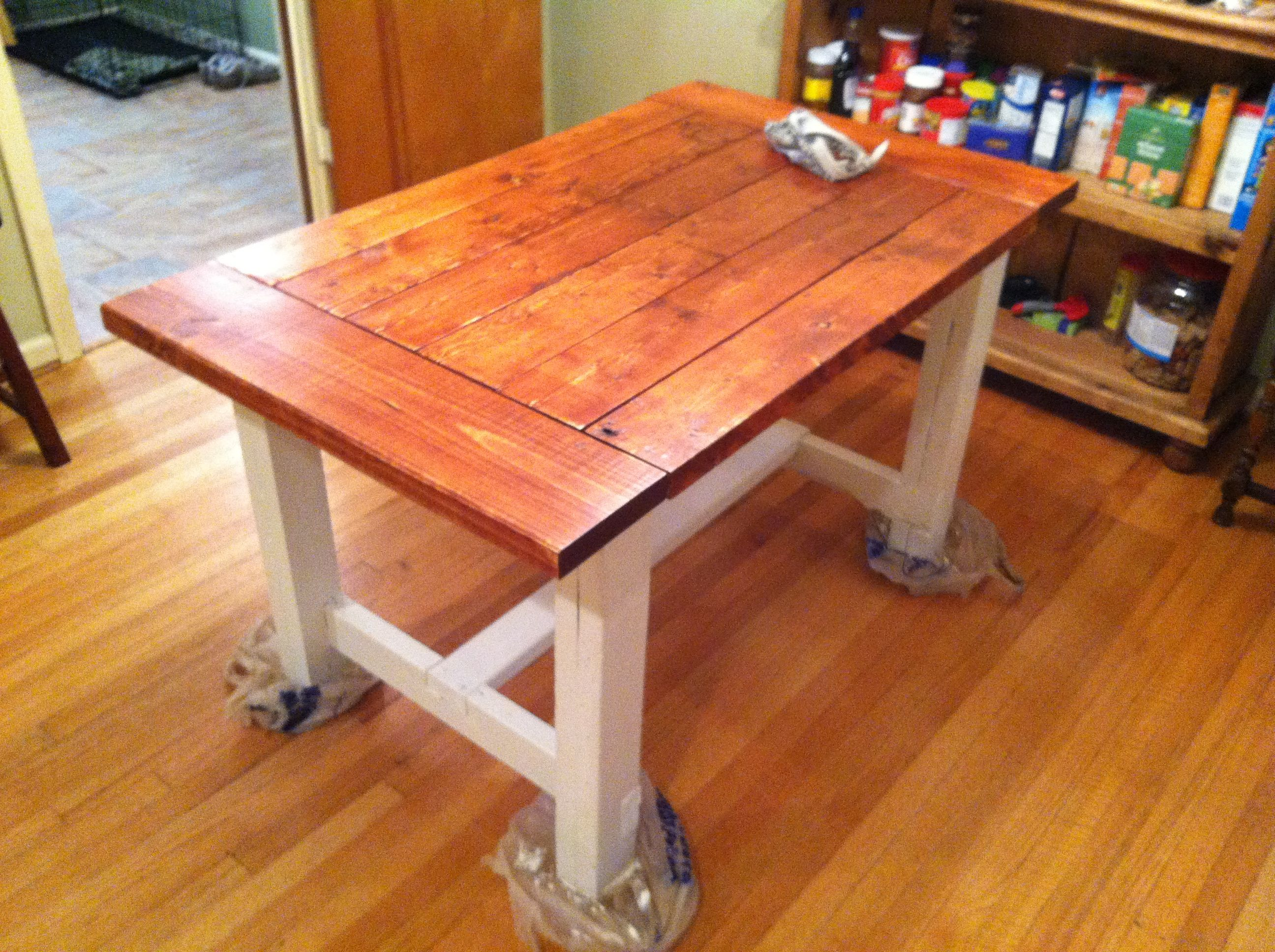 Beau Farmhouse Dining Table | Do It Yourself Home Projects From Ana White