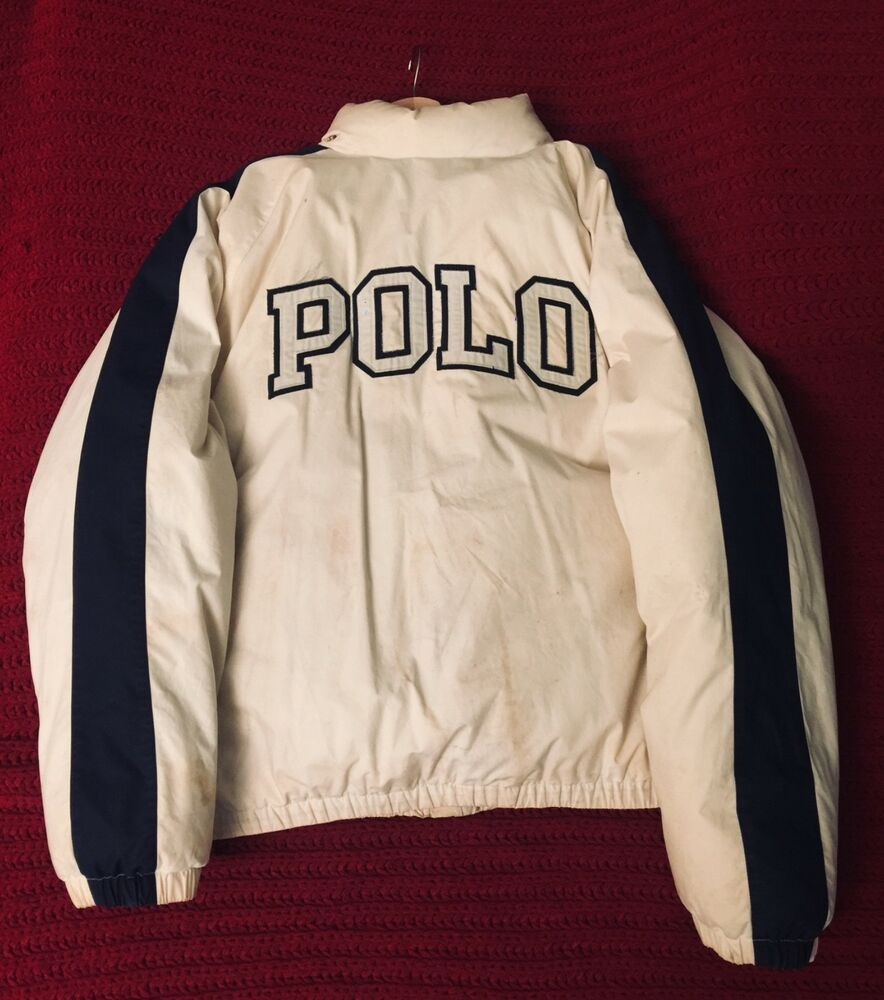 Vintage ralph Lauren Polo Sport USA goose Jacket coat XL