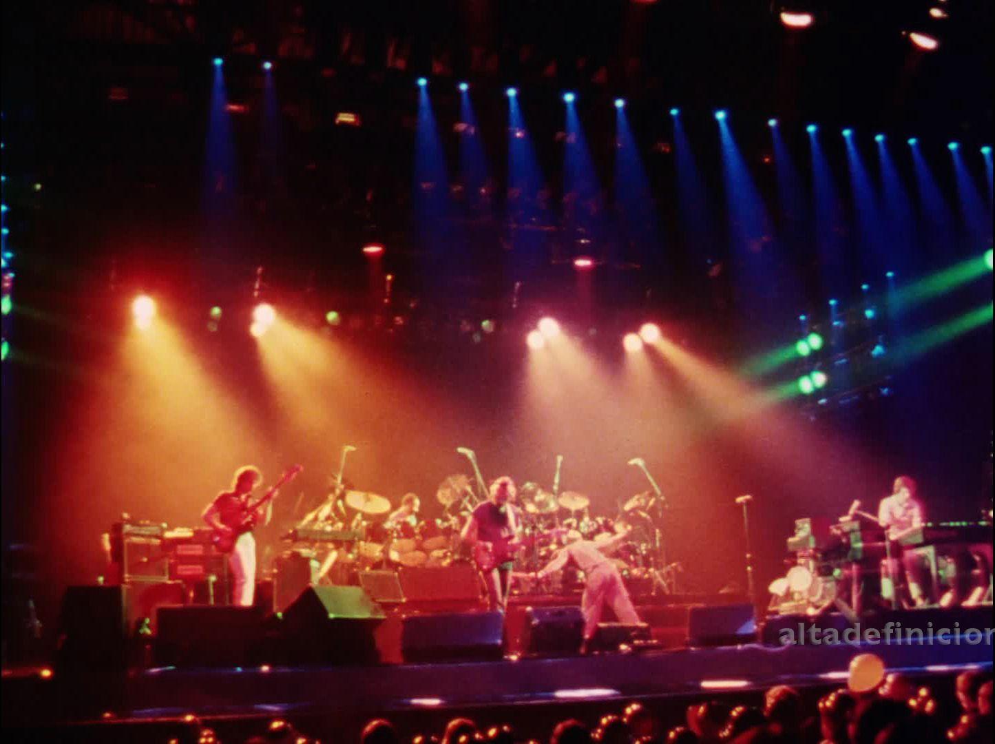 1981 Abacab Tour Concert Stage Genesis Concert
